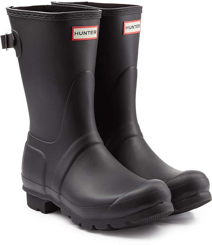 Hunter Rubber Wellington Boots