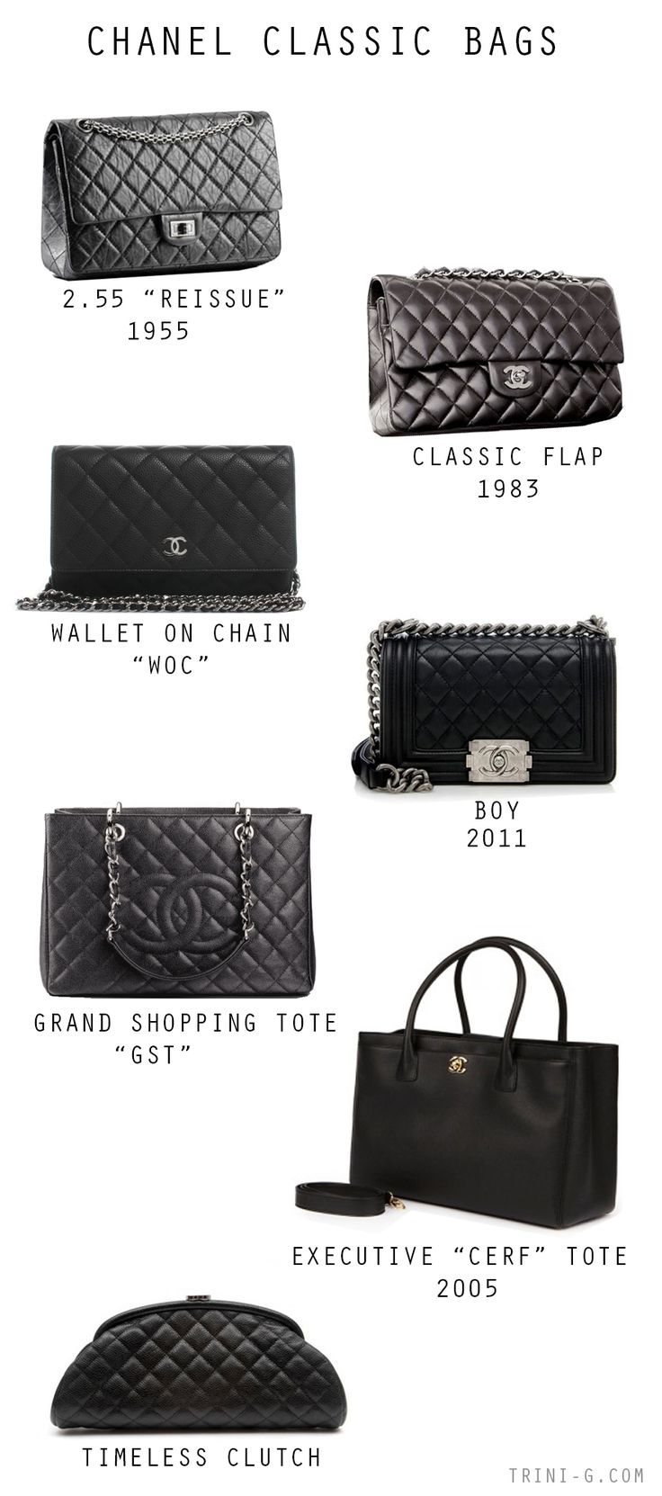 Chanel classic bags                                                                                                                                                      Más