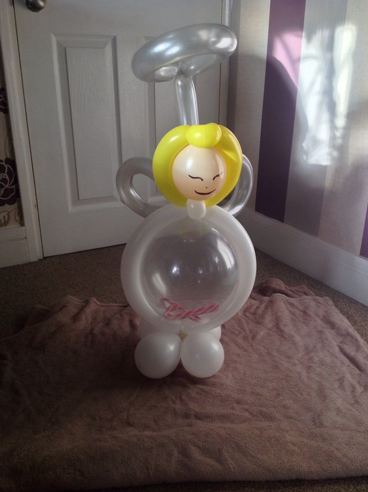 Angel gift balloon