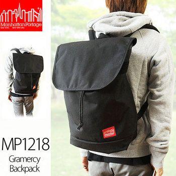 Rakuten: マンハッタンポーテージグラマシーバックパック Gramercy Backpack MP1218 flap rucksack day pack ★ 2013 latest ★ country sole agent model- Shopping Japanese ...