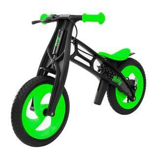 """Hobby-Bike RT Fly В Черная Оса (черно-зеленый)  — 5374р. ------- Новинка 2016 по немецкой лицензии Hobby-Bike Fly """"Черная оса"""" - беговел, созданный по немецким технологиям. Высокое европейское качество, инновации и функционал. Уникальность модели Fly - самое низкое положение сиденья - 30,5 см. Благодаря съемным пластиковым деталям вы сможете установить сиденье на высоту 42 см. Устойчивость, эргономичность и надежность позволит самым маленьким малышам от 2 лет быстро и без страха освоить этот…"""