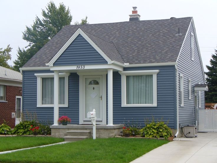 25 Best Ideas About Blue Vinyl Siding On Pinterest Home