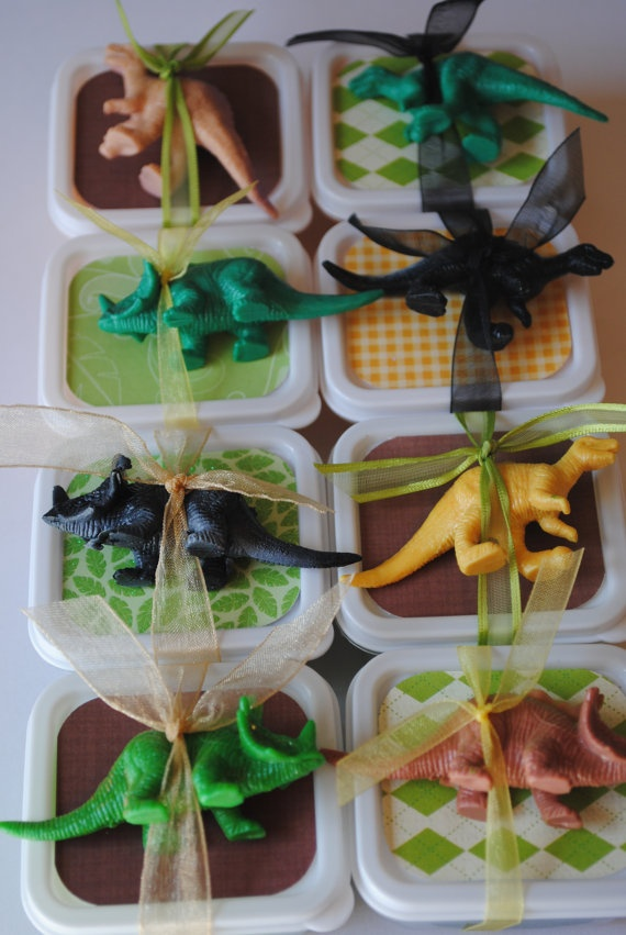 Dinosaur Party Favours or Dinosaur Party Game Idea - Dinosaur Dig by carlene