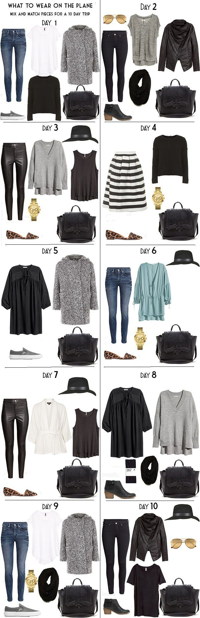 10 Days in Stockholm Sweden Packing Light List Day Looks #packinglight…