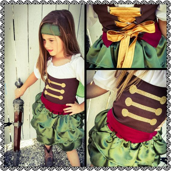Disney Zarina Pirate fairy costume in sizes by BowtiesnBubblegum