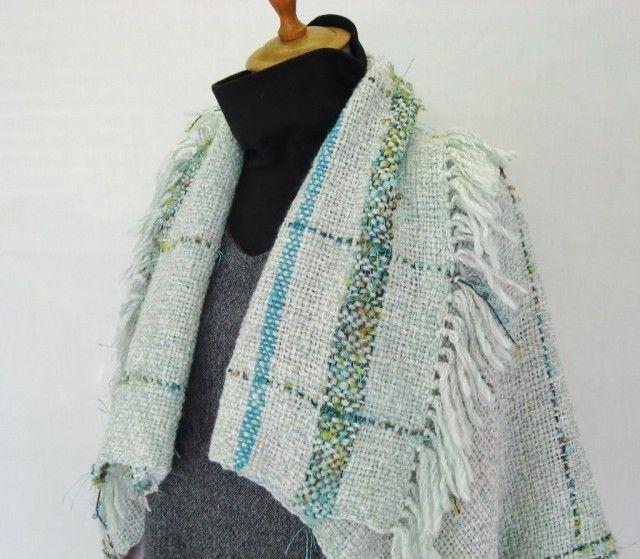 大きな襟のボレロ(グリーン) - 塩入純子