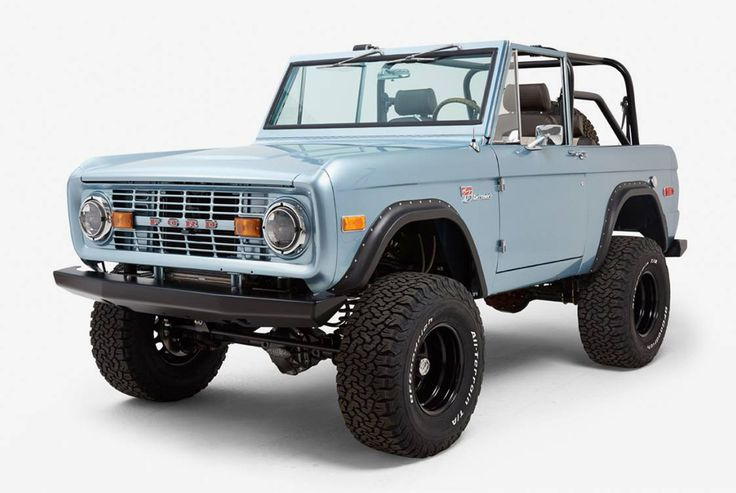 1971 Ford Bronco by Classic Ford Broncos - Gear Patrol