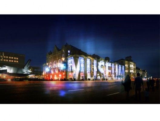 Museum Light Signage