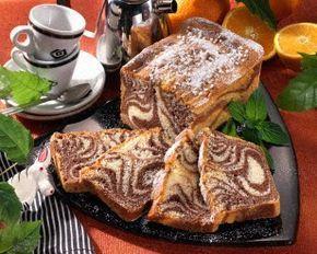 Zebra-Kastenkuchen Rezept