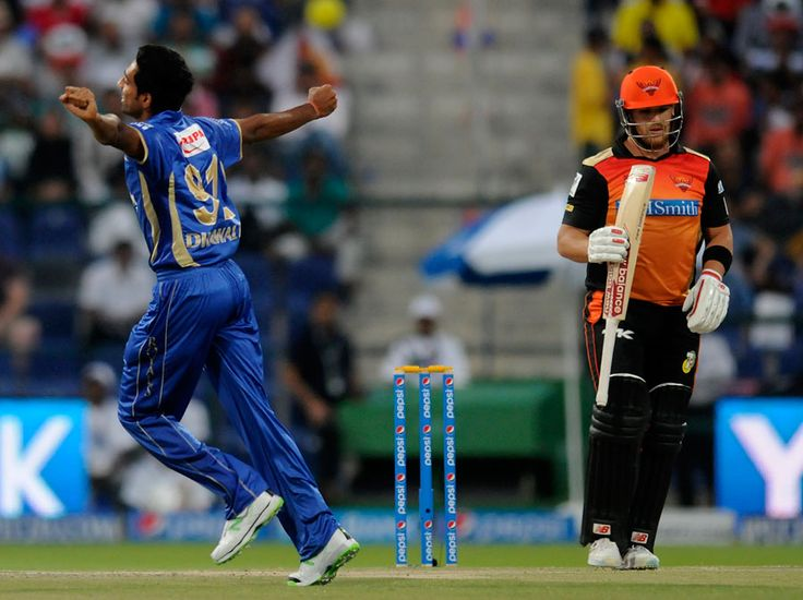 Dhawal Kulkarni broke Hyderabad's opening stand in the first over
