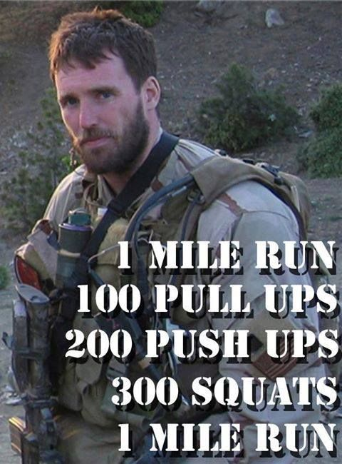 Murph....love that crossfit dedicated WODS to fallen soldiers....thats the way it should be...forever remembered and honored