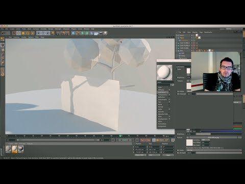 Cinema 4D paper / folding / animation tutorial - YouTube