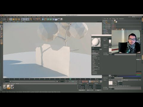 Cinema 4D paper / folding / animation tutorial - YouTube
