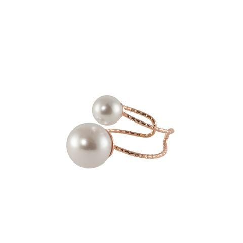 One Pearl Two Pearl Ring  $25.00 USD