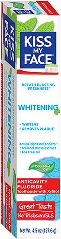 Whitening Cool Mint Gel Anticavity Fluoride Toothpaste: 4.5 oz.