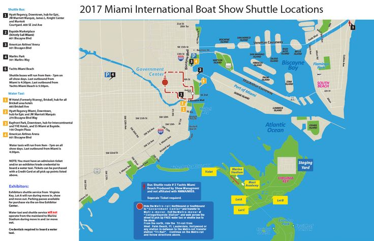 2017 Miami Boat Show Ups Water Taxi Capacity  Boats            No More Free Rides For Non Show Goers       The Miami Boat Show adds capacity and efficiency to its water taxi service. Also learn about Uber, taxi, shuttle buses, parking and more.  http://www.boatingmag.com/2017-miami-boat-show-ups-water-taxi-capacity?dom=rss-default&src=syn