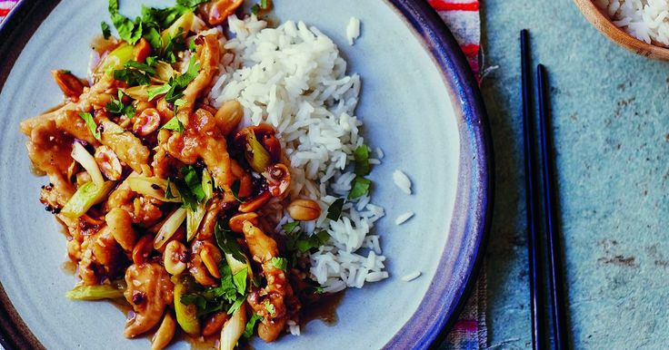 Enjoy Harry Eastwood's delicious Kung Pao Chicken tonight with this easy recipe. This authentic and quick recipe is a great way to enjoy chicken thighs.