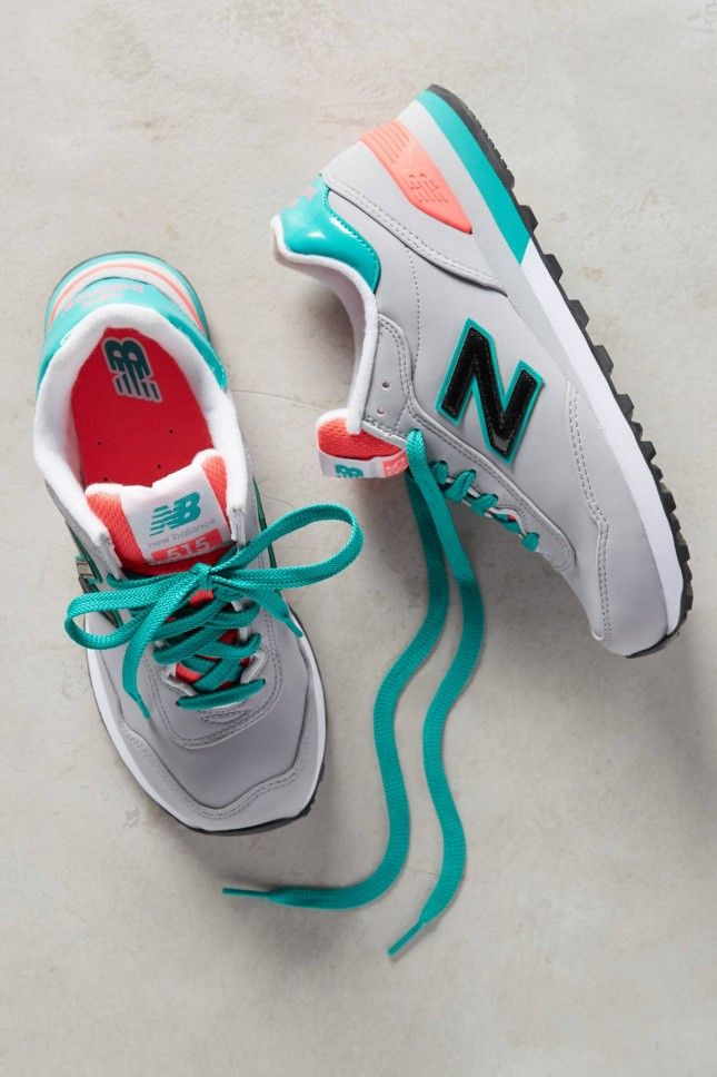 Throw on these colorful classic New Balances for a quick morning jog or trip to the farmer's market.