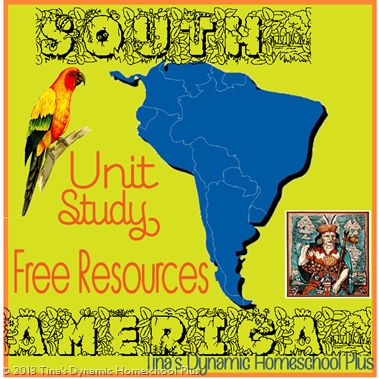 South America Free Resources Unit Study Tinas Dynamic Homeschool Plus Copy thumb South America Unit Study resources