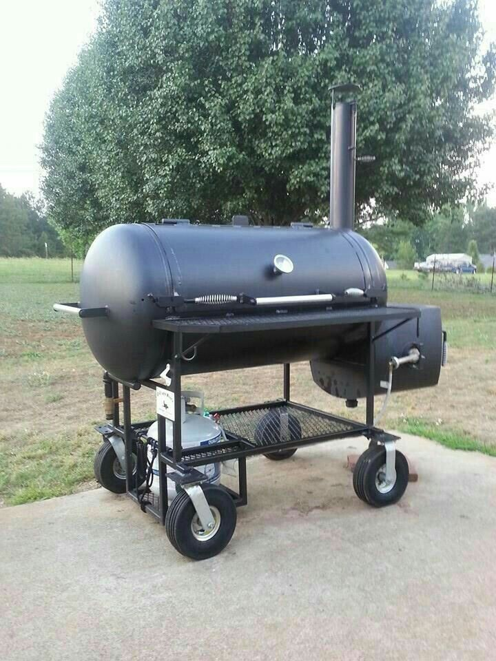 Backyard Smoker Grill Part - 37: Bbq Pit. Grill TimePropane TanksPropane SmokersBackyard ...