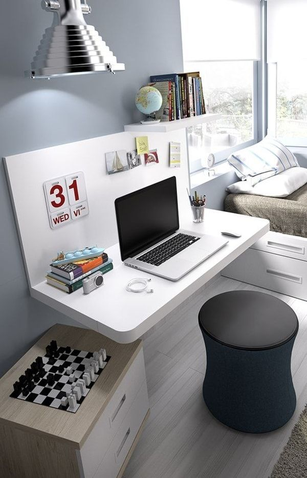 M s de 25 ideas incre bles sobre escritorio moderno en for Decoracion estudio pequeno