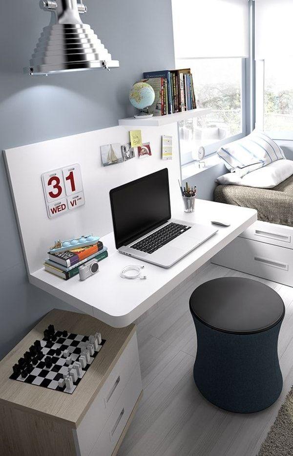 1000 ideas sobre peque os espacios de oficina en - Decoracion de estudios pequenos ...