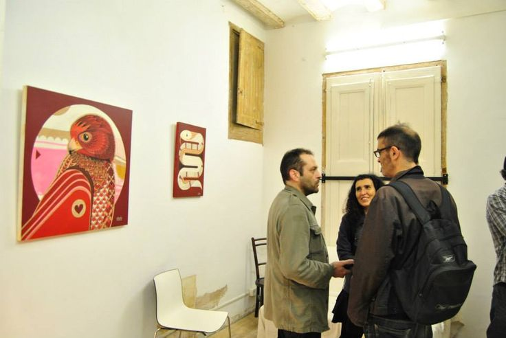 elDIMITRY solo show at Fousion Gallery Barcelona 2014 exhibited till 28. FEB 2015 Fousiongallery.com