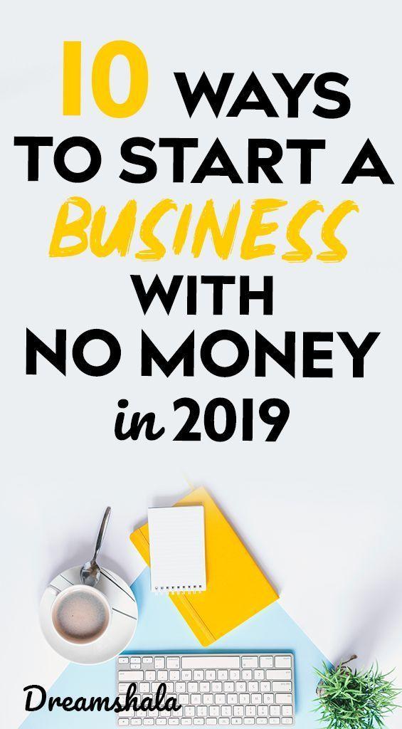 start to a business 10 ways