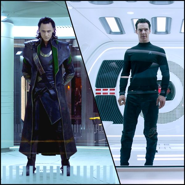 Loki and John Harrison/ Khan the hottest and sexy villains