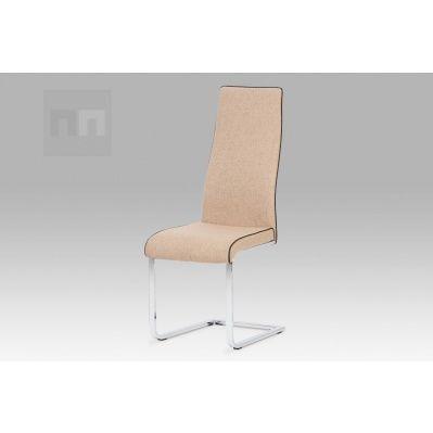 Jídelní židle látka cappuccino DCL-402 CAP2 AKCE