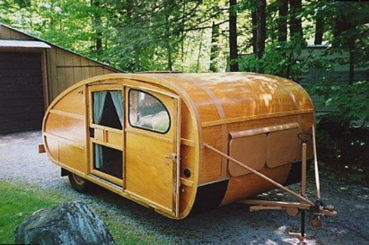 Wooden Camper Love Retro Campers Pinterest Campers