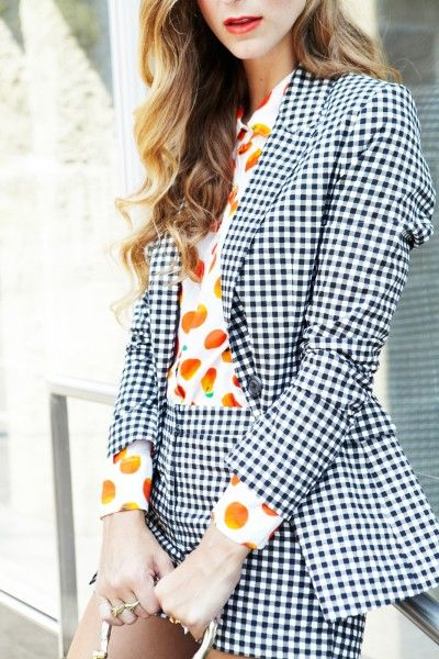 Oranges blouse