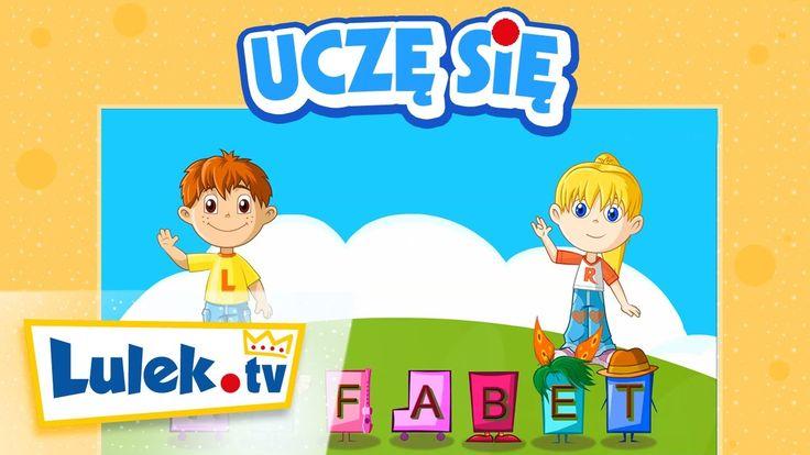 Alfabet dla dzieci - Film edukacyjny dla najmłodszych - Lulek.tv