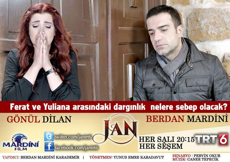 """JAN(SIZI)"" Bu akşam 20:15'te TRT 6 ekranlarında. ""JAN"" îşev 20:15 an de TRT 6 ê de.  www.facebook.com/jantrt6"