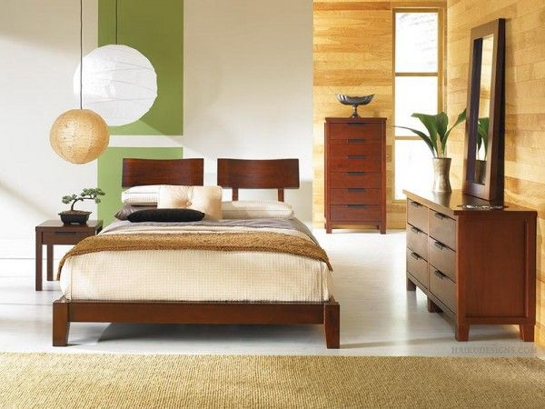 Contemporary Bedroom Ideas in Japanese Style Picture