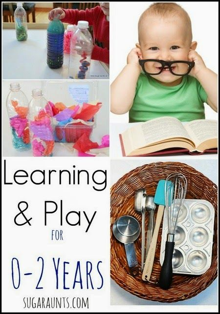 Playful learning for babies and toddlers. Great fun ideas for 0-2 years!