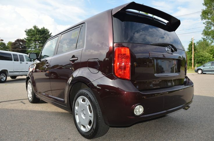 Rear Left Side View of the 2009 Toyota Scion XB For Sale