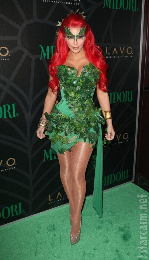 Poison Ivy Costume. id do something like this @Natalie Jost Jost Pino