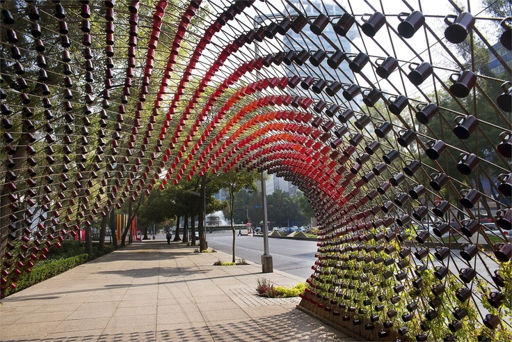 Portal of Awareness by architect Michel Rojkind. Mexico City.