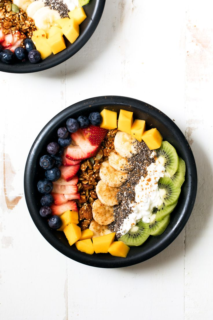 It's simple: cottage cheese, plenty of fresh fruit and your favorite granola. Look, I love greek yogurt but there's just something fantastic about cottage cheese. So give it a try.