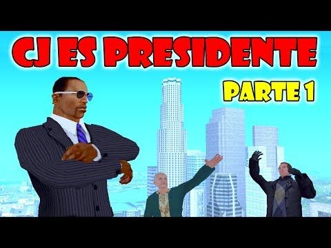 GTA San Andreas Loquendo - CJ es Presidente | Parte 1 - YouTube