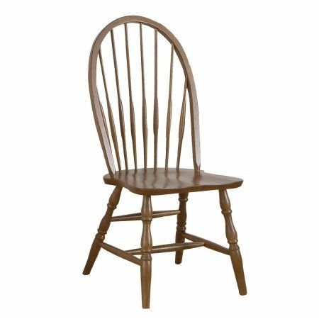 "Carolina Classic Cottage  Windsor Chair, Chestnut by Carolina Classic. Save 56 Off!. $86.79. Seat Dimensions 17-3/4""W x 17-3/4""D x 17-1/4""H. Made from Solid Selet Asain Hardwood. Comfortable Contoured Seat. Beautiful four step hand finish. Item Ships Fully Assembled. The traditional appearance of this dining chair will make a welcome addition to any home. It features design elements like a spindle Windsor back, turned legs, and slightly tapered stretchers. You will simply ador..."