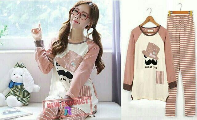 St.Mustache 55.000 Kaos spandek fit to L