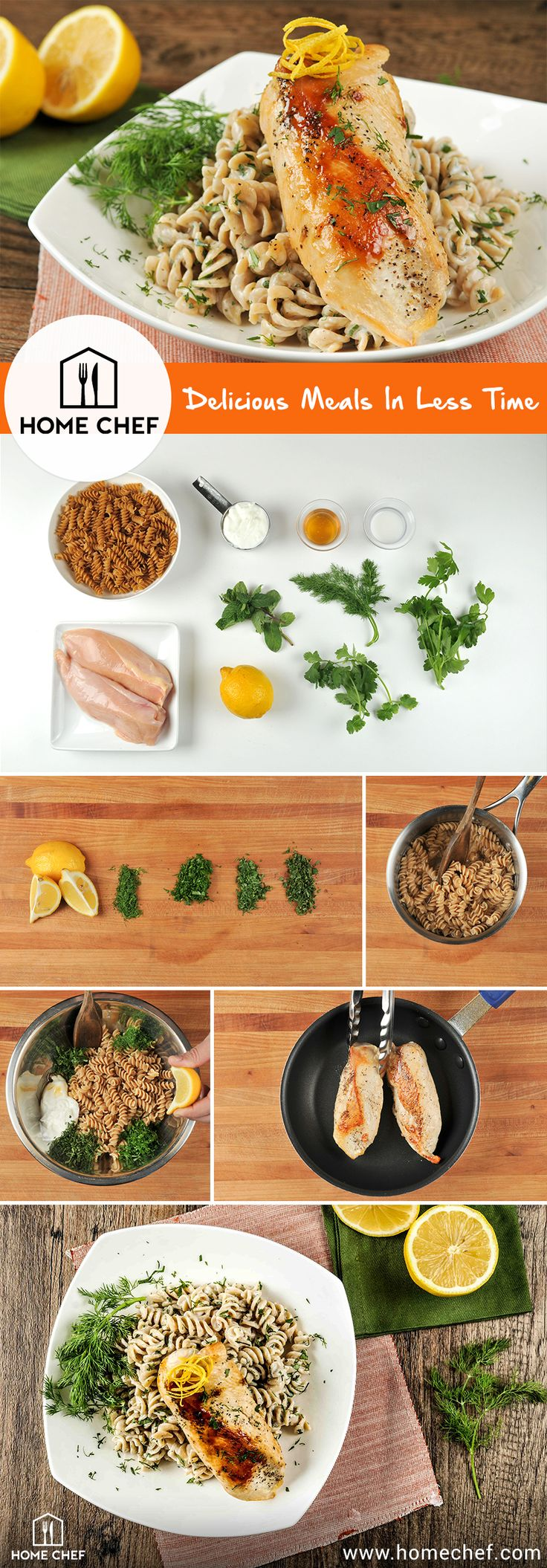 Get $30 off your first order when you try Home Chef today!  Start living a healthier life when you sign up for Home Chef. Receive fresh, pre-portioned ingredients straight to your kitchen, with recipes curated from world-class chefs. From hearty meat and seafood options to gluten-free and low-carb dishes, there's a dinner option that's bound to work for you. Get started with Home Chef today.