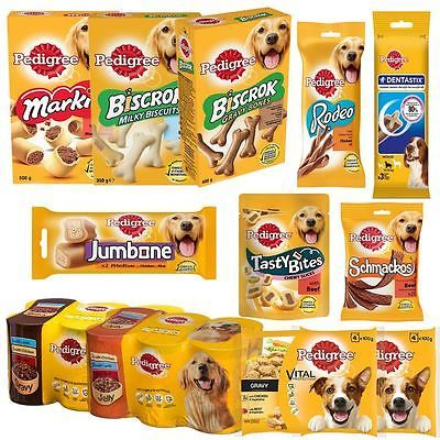 Pedigree | #selection of dog food / #treats | biscuits #chews pouches | adult dog, View more on the LINK: http://www.zeppy.io/product/gb/2/272508461435/
