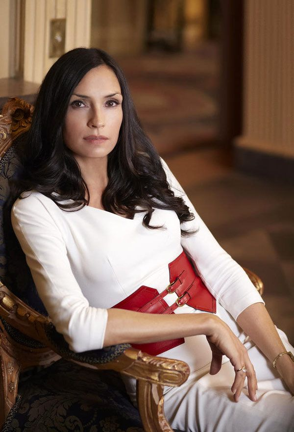 "Famke Janssen as Olivia Godfrey in the Netflix original series ""Hemlock Grove"" - costumer designer: Donna Berwick"