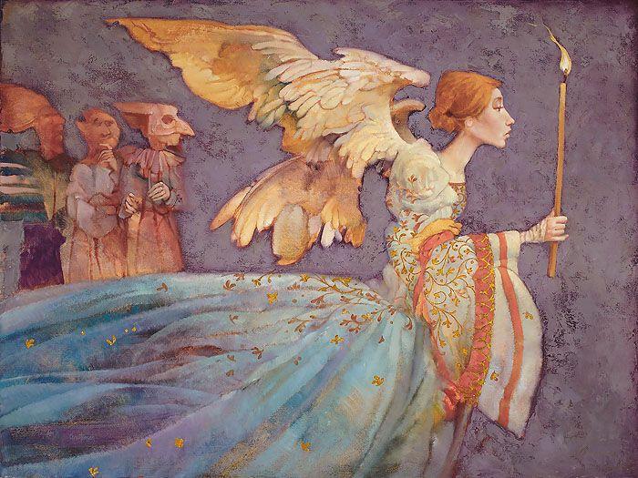 Angel By James C. Christensen