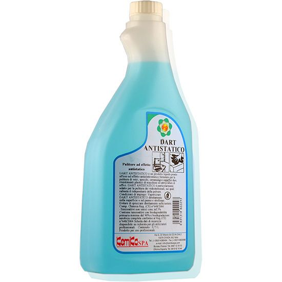 Check Out Our Awesome Product: Pulitore Universale Dart Antistatico>>>>>>Detergente per vetri e specchi.  Disponibile in flaconi da 750 ML