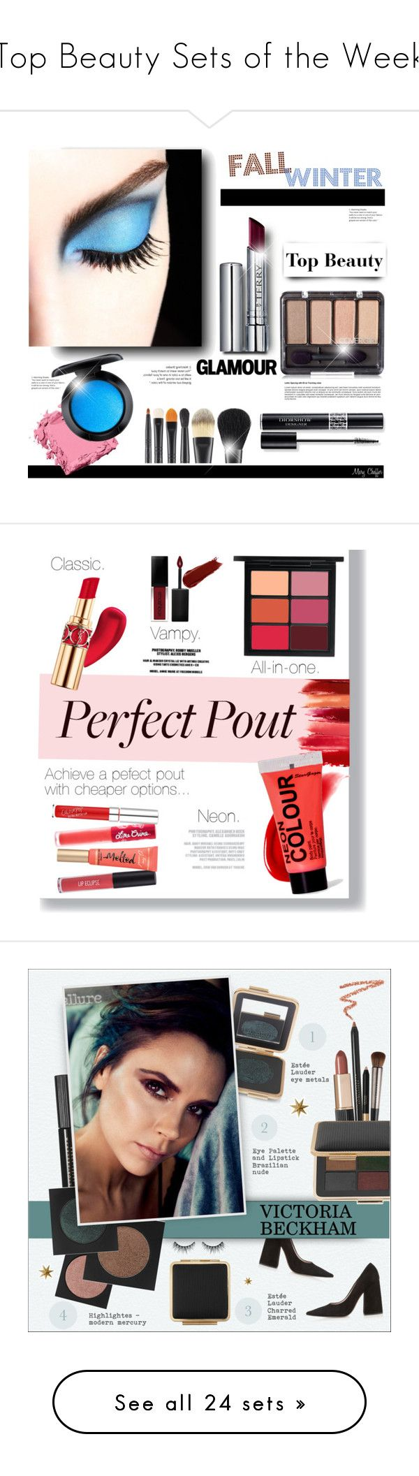 """""""Top Beauty Sets of the Week"""" by polyvore ❤ liked on Polyvore featuring beauty, By Terry, Christian Dior, MAC Cosmetics, Bobbi Brown Cosmetics, BeautyTrend, Beauty, makeup, Lime Crime and NARS Cosmetics"""