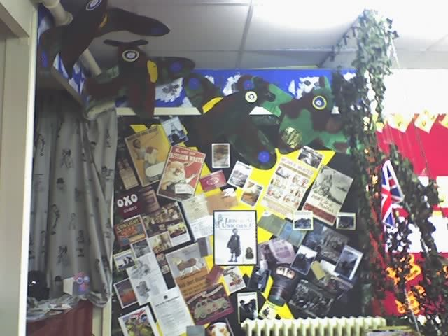 WW2 Stimulus Display classroom display photo - Photo gallery - SparkleBox